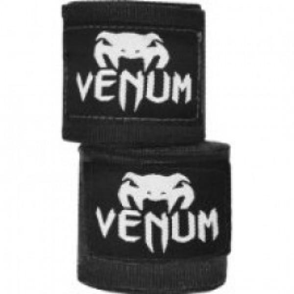 Бинты боксерские Venum Kontact 2,5 m Black