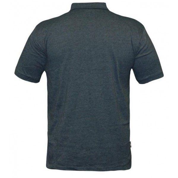 Футболка Bad Boy Plain Polo Shirt - Air Force Blue