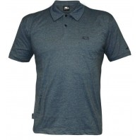 Футболка Bad Boy Plain Polo Shirt - Air Force Blue