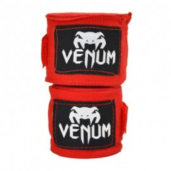 Бинты боксерские Venum Kontact Boxing Handwraps 2,5 m - Red