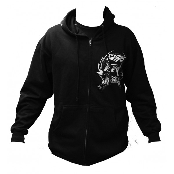 Толстовка Contract Killer CK Factory Hoody Black with White