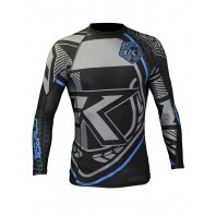 Рашгард Contract Killer Black & Blue Rashguard Long