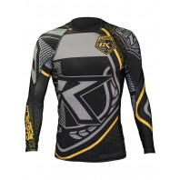 Рашгард Contract Killer Black & Yellow Rashguard Longsleeve