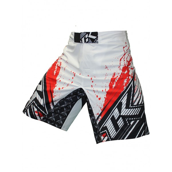 Шорты ММА Contract Killer Stained S2 Shorts - White/Red