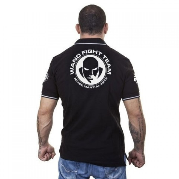 Поло Venum Wand Fight Team - Black