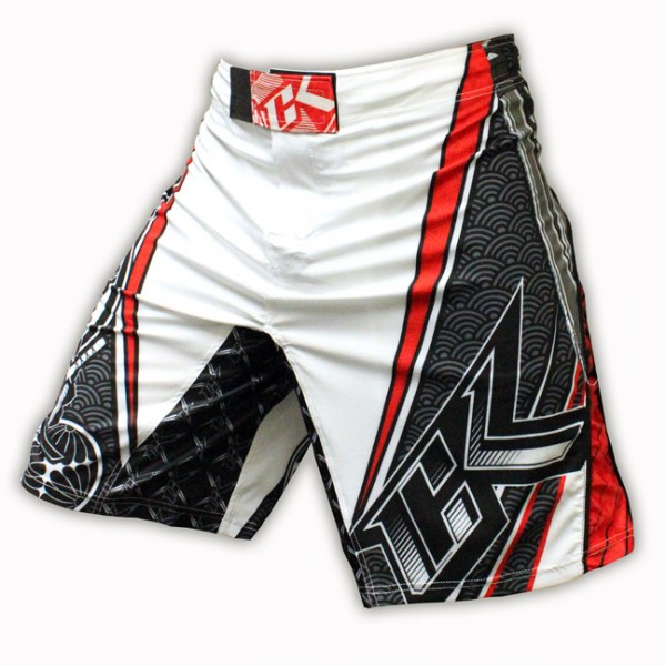 Шорты ММА Contract Killer Hakkamo White Shorts
