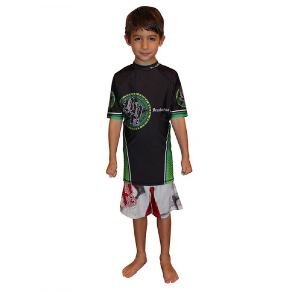 Рашгард Break Point Elite Rash Guard Green