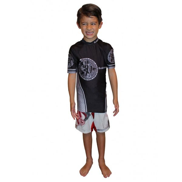 Рашгард Break Point Elite Rash Guard Gray