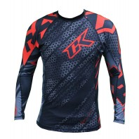 Рашгард Contract Killer Droid Red Rashguard L/S