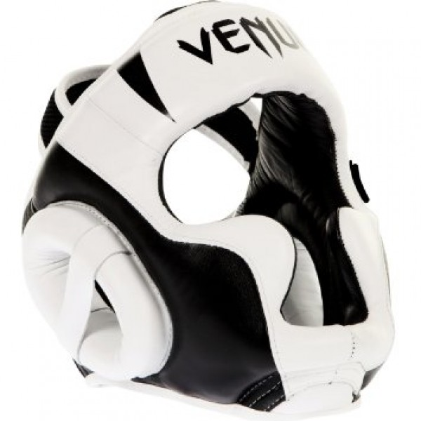 Шлем боксерский Venum Absolute Headgear 100% Premium Leather - White