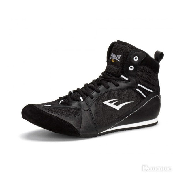 Боксерки Everlast Low-Top Competition Черные
