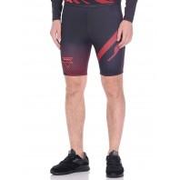 Компрессионные шорты Athletic pro. Martial Red MVTS-008
