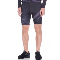 Компрессионные шорты Athletic pro. Martial Black MVTS-005