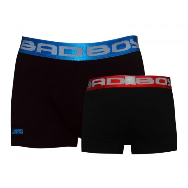 Трусы Bad Boy Boxer Shorts - 2 Pack Black