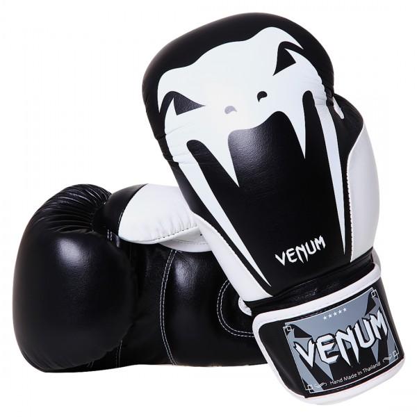 Перчатки боксерские Venum Giant 2.0 Boxing Gloves - Black - Nappa Leather