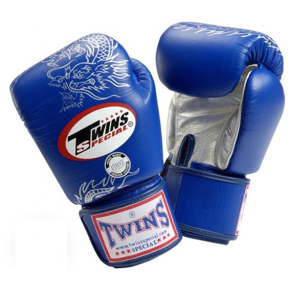 Перчатки боксерские Twins FBGV-6S Blue