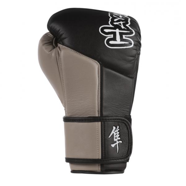 Перчатки боксерские Hayabusa Tokushu 12oz Gloves Black/Desert Sand