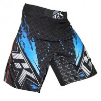 Шорты ММА Contract Killer Stained S2 Shorts - Black/Blue