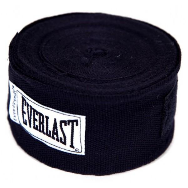 Бинты Everlast 4,55м Черные