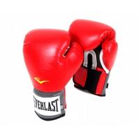 Перчатки боксерские Everlast PU Pro Style Anti-MB Красные