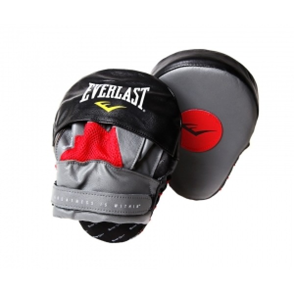 Лапы изогнутые Everlast Mantis Punch Mitts Красно-Черные