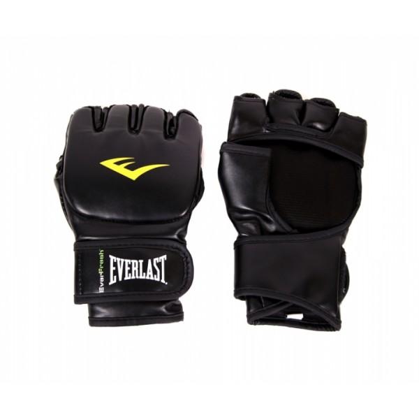 Перчатки ММА Everlast Martial Arts Grappling PU Черные