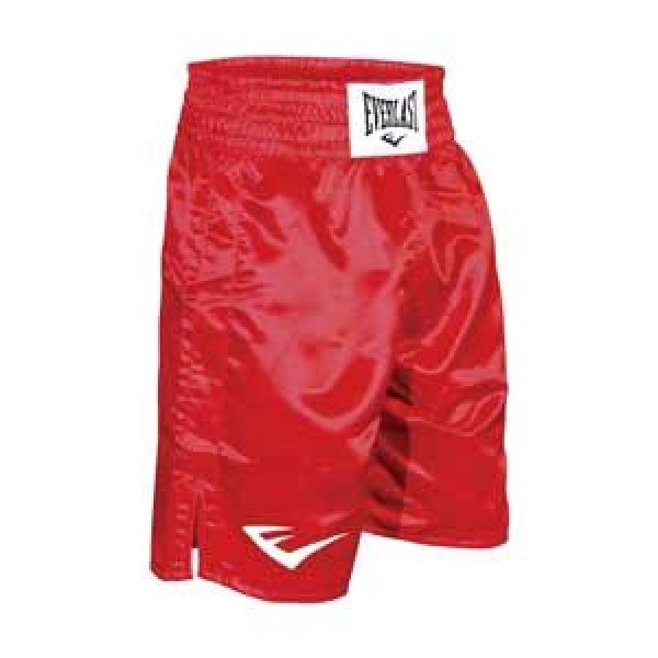 Шорты боксерские Everlast (выше колена) Красные<br>Вес кг: 300.00000000;