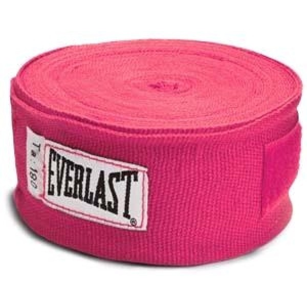 Бинты Everlast 2,75м Розовые