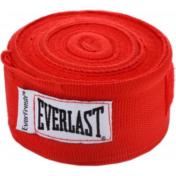 Бинты Everlast 4,55м Красные