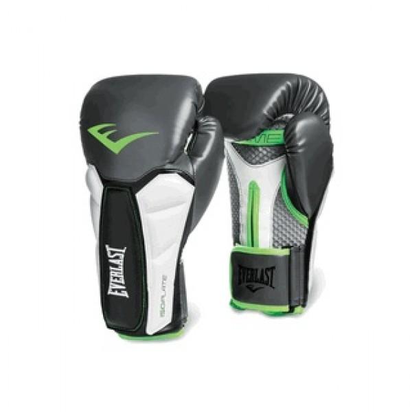 Перчатки боксерские Everlast Prime Серо-Зеленые