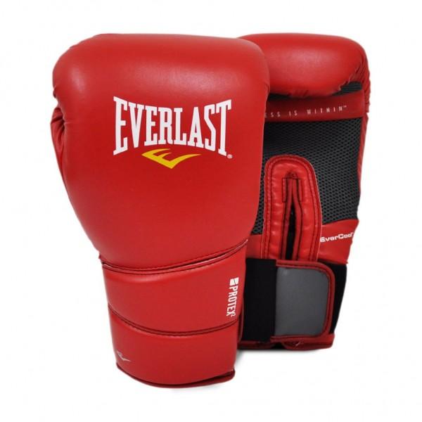 Перчатки боксерские Everlast Protex2 Красные
