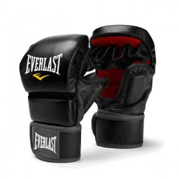 Перчатки ММА Everlast Striking Black