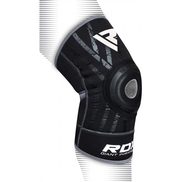 Наколенник RDX Ring Pro Gray/Black (поштучно)