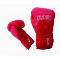 Перчатки боксерские Excalibur 8046/02 Red/White PU