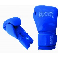 Перчатки боксерские Excalibur 8046/03 Blue/White PU