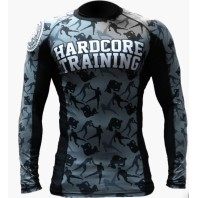 Рашгард Hardcore Training Camo Fight L/S