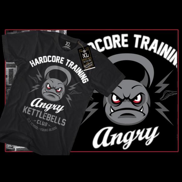 Футболка Hardcore Training Angry Kettlebells Club