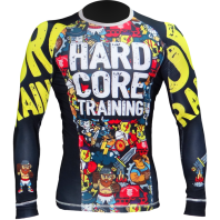 Рашгард Hardcore Training X Manto Doodles L/S