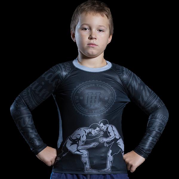 Рашгард детский Hardcore Training Wrestling