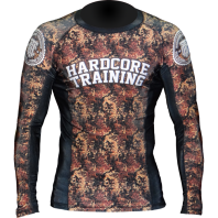 Рашгард Hardcore Training Flecktarn L/S