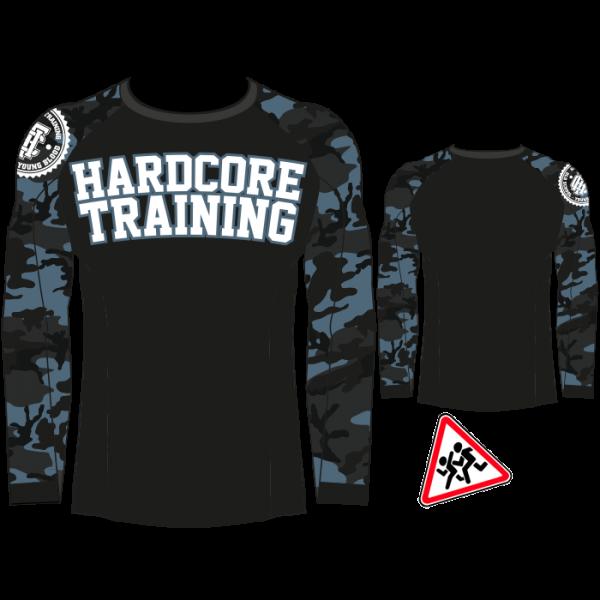 Рашгард детский Hardcore Training Camo 2.0