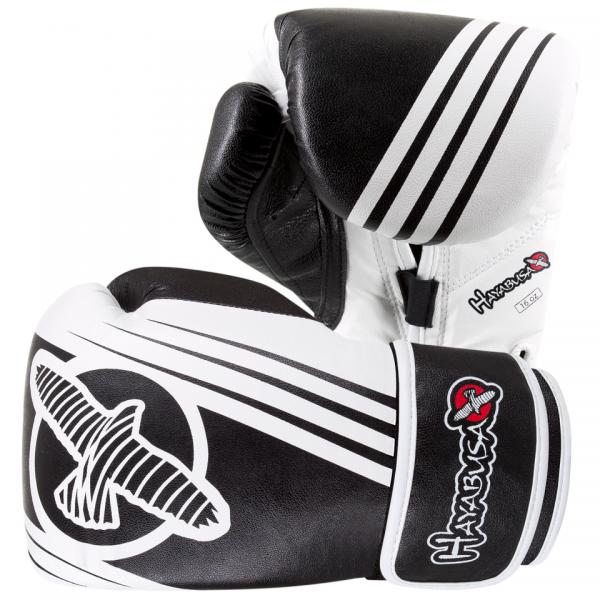 Перчатки боксерские Hayabusa Ikusa Recast 16oz Black/White