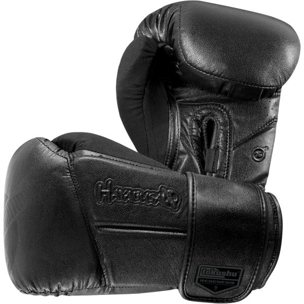 Перчатки боксерские Hayabusa Tokushu® Regenesis Stealth Black