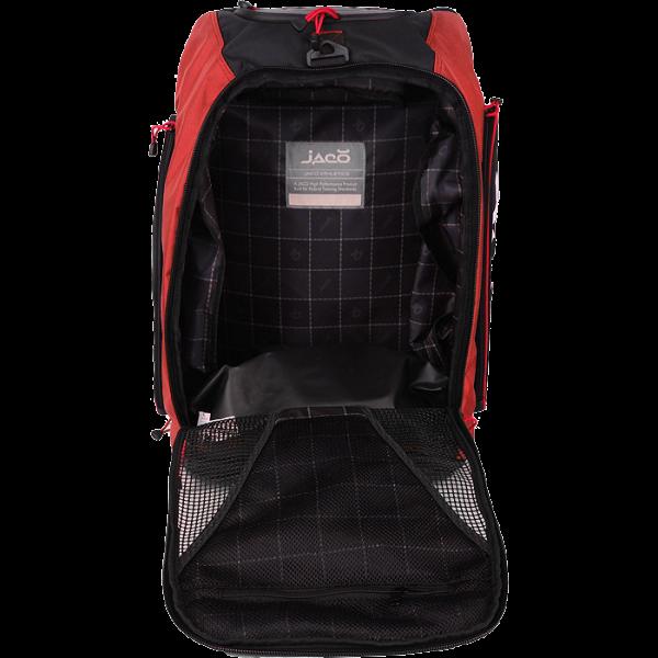 Cумка-рюкзак Jaco Convertible Equipment Bag 2.0 Black/Red