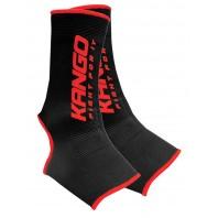 Бандажи голеностопные Kango KSH-084 Black/Red
