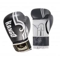 Перчатки боксерские Kango BVK-029 Black/White PU