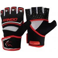 Перчатки ММА Kango KMA-249 Black Red/White
