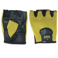 Перчатки для фитнеса Kango WGL-074 Black/Yellow