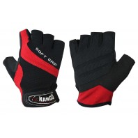 Перчатки для фитнеса Kango WGL-080 Black/Red
