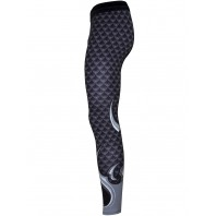 Компрессионные штаны Athletic pro. Dragon Scale MSP-135